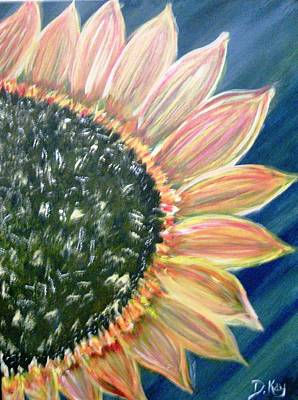 Painting - Giant Sunflower by The GYPSY