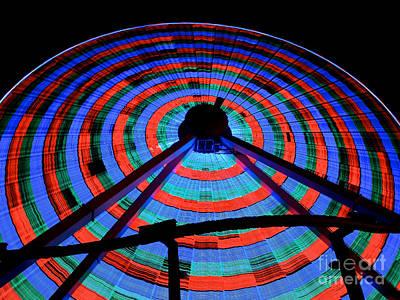 Giant Wheel Art Print by Mark Miller