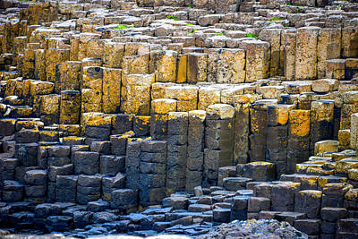 Photograph - Giant's Causeway - County Antrim - Northern Ireland by Marilyn Burton