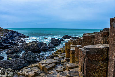Photograph - Giant's Causeway - Northern Ireland by Marilyn Burton