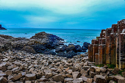 Photograph - Giant's Causeway In Northern Ireland by Marilyn Burton