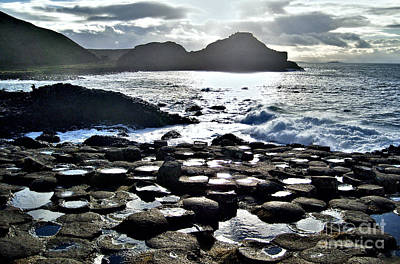Giant's Causeway Sunset Art Print
