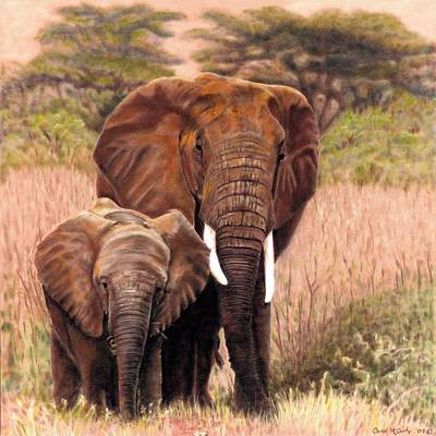 Giants Of Kenya Art Print