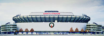 Garden State Photograph - Giants Stadium In New Jersey by Panoramic Images