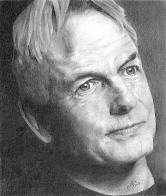 Gibbs Drawing - Gibbs by Laura Rohlfing