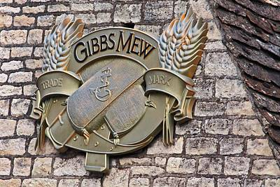 Photograph - Gibbs Mew Signage by Shirley Mitchell