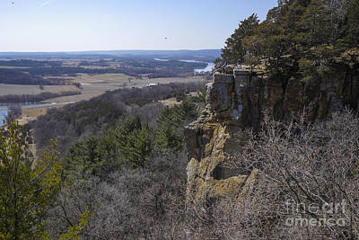 Photograph - Gibraltar Rock - Wisconsin by Steven Ralser