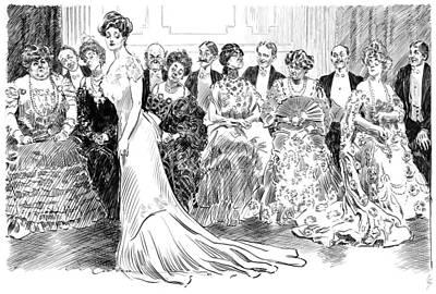 Gibson Ballroom, C1904 Art Print by Granger