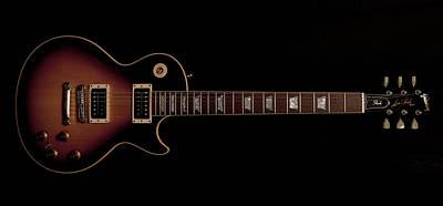 Gibson Les Paul Art Print by Maj Seda