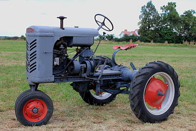 Gibson Tractor Photograph - Gibson Tractor by Trent Mallett