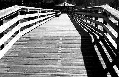 Photograph - Gibsons Pier by Robert  Rodvik