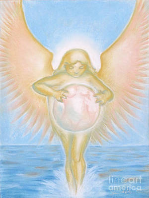 Gift Of The Golden Goddess Art Print