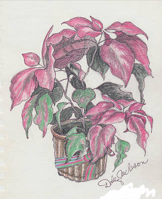 Painting - Gift Poinsettia by Dale Jackson