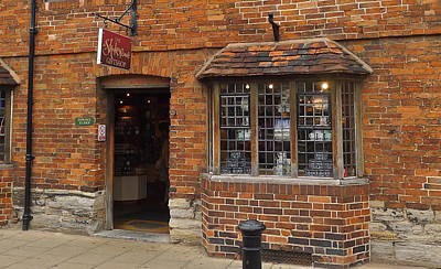 Photograph - Gift Shop At Shakespeare's Birthplace by Denise Mazzocco