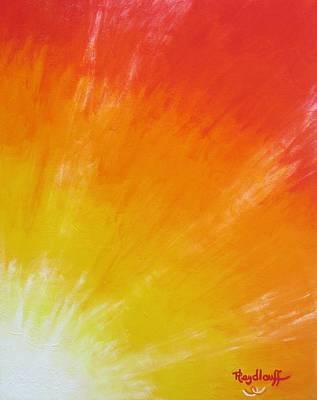 Painting - Gifting Energy by Pat Heydlauff