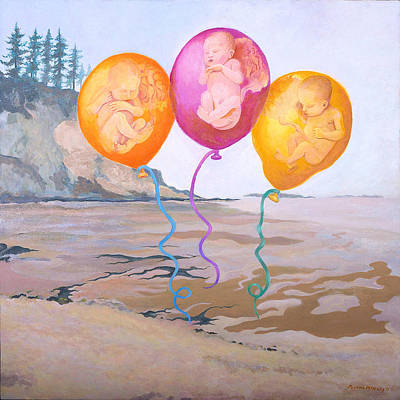 Painting - Gifts by Susan McNally