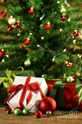 Photograph - Gifts Under The Christmas Tree by Sandra Cunningham