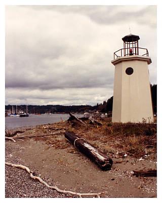 Photograph - Gig Harbor Lighthouse by Jack Pumphrey