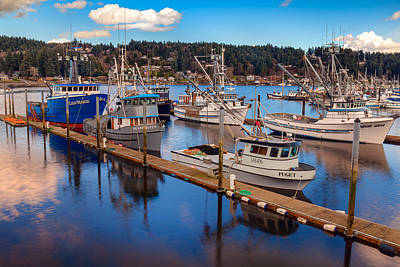 Photograph - Gig Harbor Marina by Thomas Hall