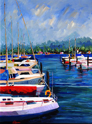 Painting - Gig Harbor Morning by Michael Tieman