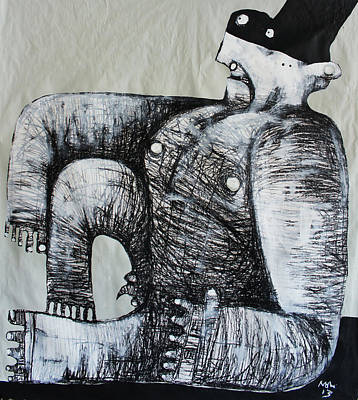 Gigantes No. 5 Art Print by Mark M  Mellon