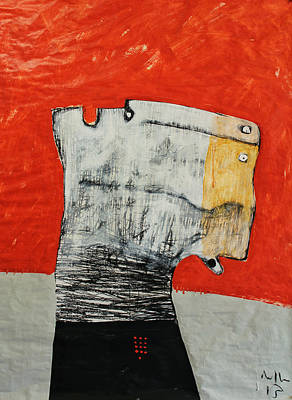 Outsider Art Mixed Media - Gigantes No. 9 by Mark M  Mellon