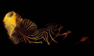 Digital Art - Gilded by Kiki Art