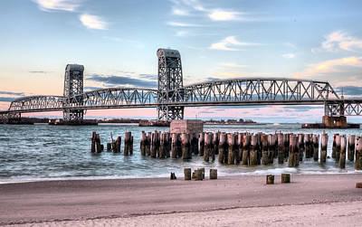 Bridge Pilings Photograph - Gil Hodges Memorial Bridge by JC Findley