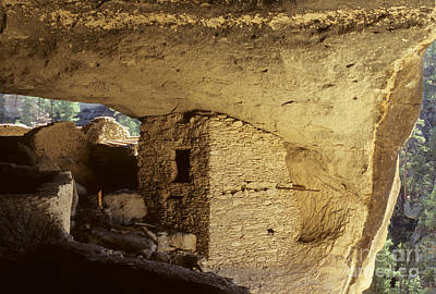 Photograph - Gila Cliff Dwelling New Mexico by Bob Christopher