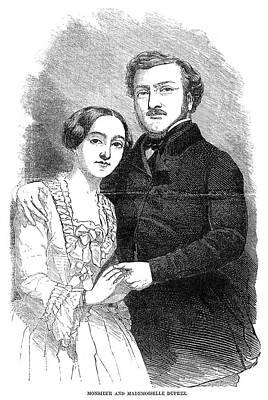 Operatic Painting - Gilbert-louis Duprez (1806-1896) by Granger