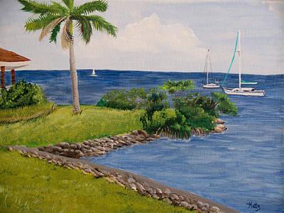 Punta Gorda Painting - Gilcrest Park by Kathy Przepadlo