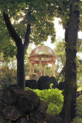Photograph - Gilded Gazebo by Jessica Jenney