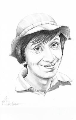 Famous People Drawing - Giligan by Murphy Elliott