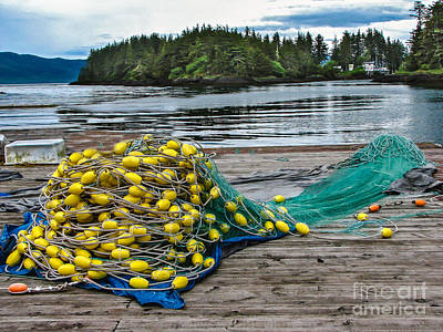 Photograph - Gill Net by Robert Bales