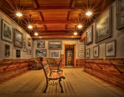 Photograph - Gillette Castle Gallery Room by Susan Candelario