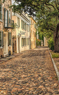 Photograph - Gillon Street In Charleston by Gary Slawsky