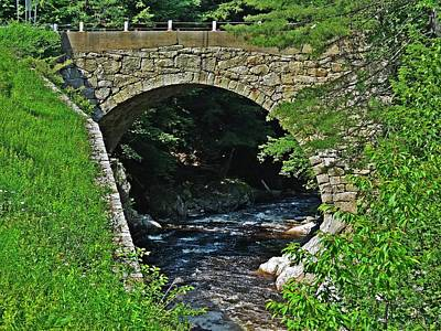 Photograph - Gilsum Stone Arch Bridge by MTBobbins Photography