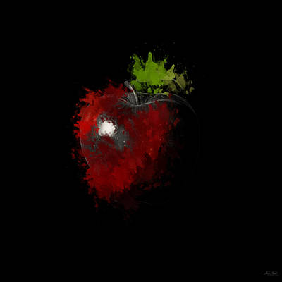 Apple Photograph - Gimme That Apple by Lourry Legarde