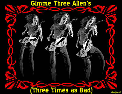 Photograph - Gimme Three Allens by Ben Upham