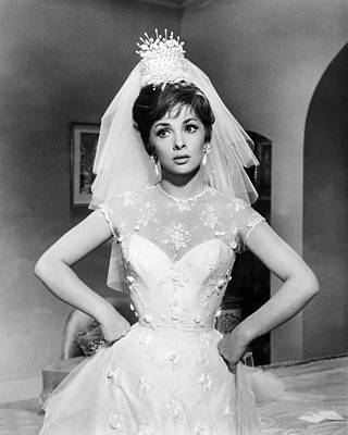 Gina Photograph - Gina Lollobrigida In Come September  by Silver Screen