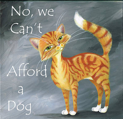 Cat Painting - Ginger Cats Know Best by Heather Bradley