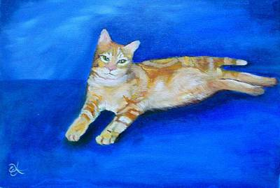 Ginger Art Print by Fineartist Ellen