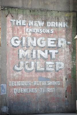 Ginger-mint Julep Art Print by Pamela Schreckengost