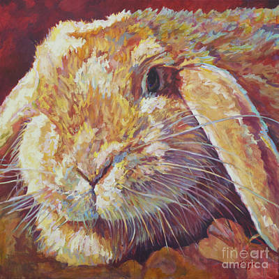 Ginger Art Print by Patricia A Griffin