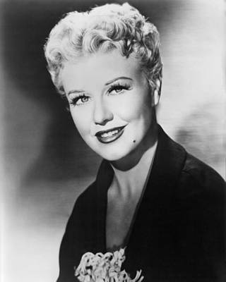 Black Widow Photograph - Ginger Rogers In Black Widow  by Silver Screen