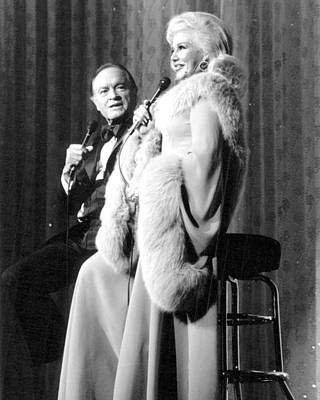 Bob Hope Photograph - Ginger Rogers In The Bob Hope Show  by Silver Screen
