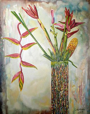 Ginger Root Art Print by John Keaton