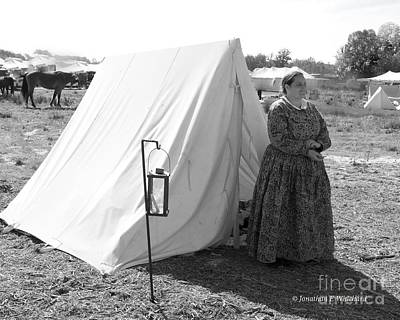 Photograph - Ginger Stevens Pallas Athena Ladies Society 150 Reenactment Of Chancellorsville by Jonathan E Whichard
