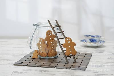 Gingerbread Jar Art Print by Amanda Elwell