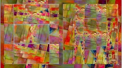 Digital Art - Gioco Di  Coliore by Halina Nechyporuk